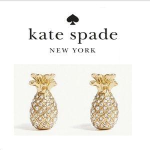 ♠️ Kate Spade♠️ Pave Pineapple Earrings